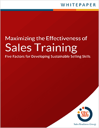 Learn five factors for developing sustainable selling skills.