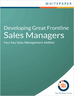 Learn four key sales management abilities.