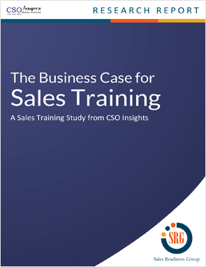 A sales training study from CSO Insights.