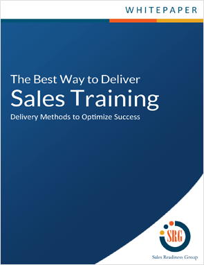 Explore sales training delivery methods to optimize success.