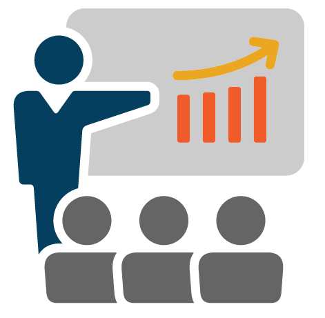 Deliver an industry leading sales training program with your own facilitators.