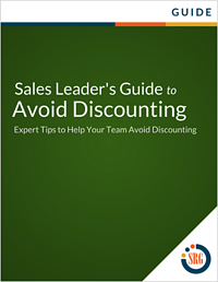 Sales Leader's Guide to Avoid Discounting