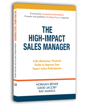 High Impact Sales Manager Book Cover