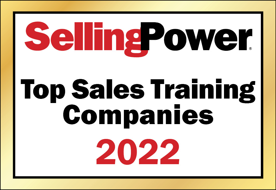 Recognized as a Top Sales Training Company for 7 Consecutive Years