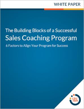 Sales Coaching Program Success Factors