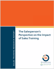 Download sales training research report