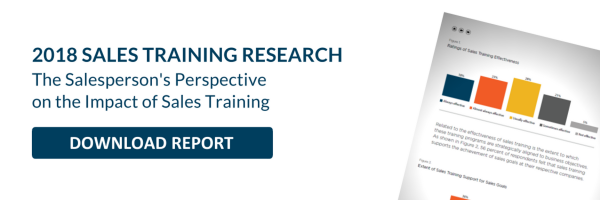 Download to better understand the impact of sales training